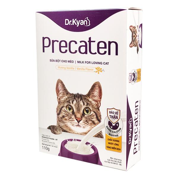 Dr.Kyan Precaten - sữa mèo [hộp giấy 110g]