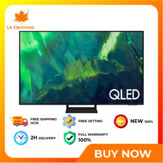 [GIAO HÀNG 2 - 15 NGÀY TRỄ NHẤT 15.09] Trả Góp 0% - Smart Tivi 4K Samsung 75 Inch QA75Q70AA Mới 2021 - Miễn phí vận chuyển HCM thumbnail