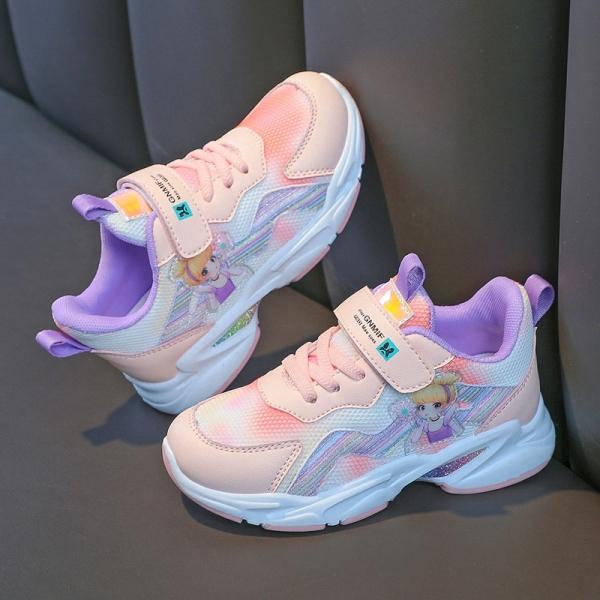 Giá bán Giày đi học bé gái - giày thể thao bé gái ( Mẫu mới ) SBC49