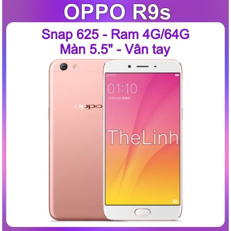 Điện thoại OPPO R9s Ram 4G 64G - Snap 625 Màn 5.5 inch