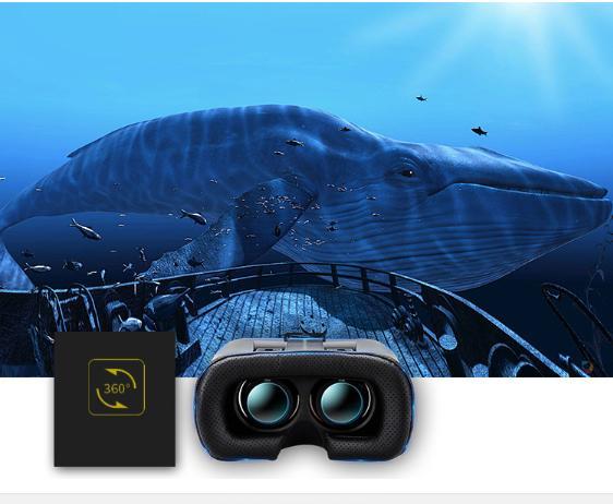 Giá Kính thực tế ảo vr box, kính 3d cho điện thoại - Kính thực tế ảo thế hệ 2 VR KODENG cao cấp, chất lượng hình ảnh chân thực, Giá Khuyến Mại Hấp Dẫn
