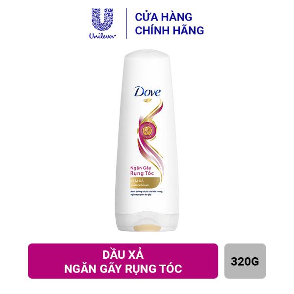 Kem xả Dove Ngăn gãy rụng tóc (320g) nhập khẩu
