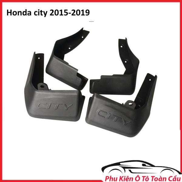Bộ 04 Chắn Bùn Cho Xe Ô Tô Honda City 2015 -2019- Bền Đẹp