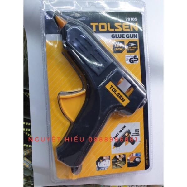[VN] Súng bắn keo đèn cày Tolsen 79105 kèm 2 thanh keo sẵn