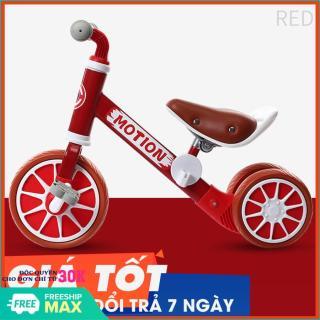 Xe chòi chân - Xe đạp cho bé - Xe đạp kiêm chòi chân 2 trong 1 cho bé - Xe đạp 3 bánh - Đồ chơi cho bé ( BẢO HÀNH 1 ĐỔI 1) thumbnail
