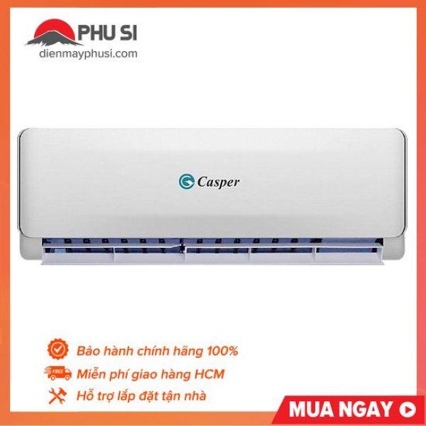 Máy Lạnh Casper EC-09TL22 , Công suất: 1HP - 9000BTU. Công nghệ giấc ngủ sâu, Bộ lọc khử mùi, kháng khuẩn Anti-Formaldehyde. Bảo hành 1 năm.