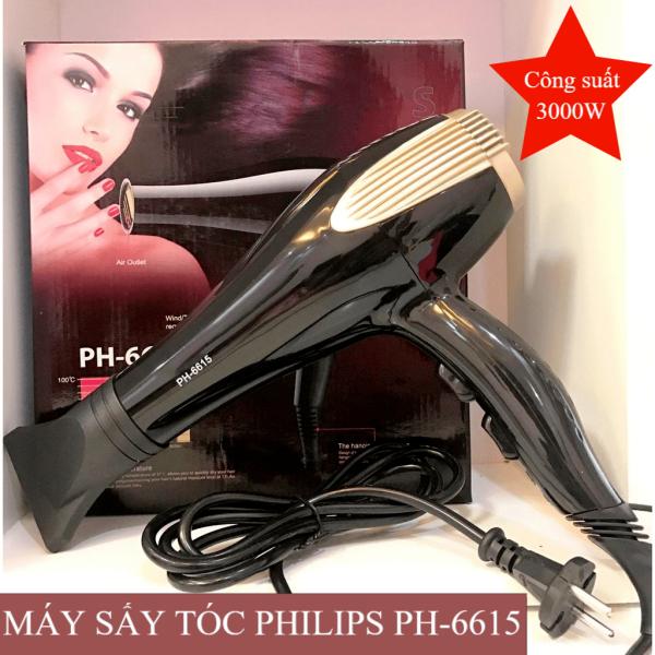 Máy sấy tóc cao cấp, máy sấy tóc tạo kiểu PHILIPS PH-6615 hai chiều- công suất 3000W- có 3 chế độ sấy dễ dàng sử dụng, không làm tóc hư tổn