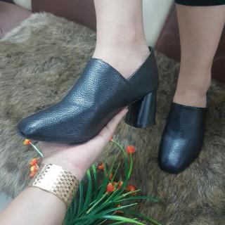 Giày boot bốt nữ đẹp hàng hiệu Rosata-phối màu RO189 thumbnail