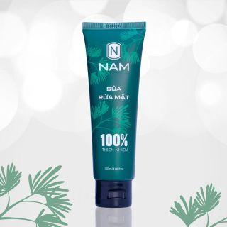 Sữa rửa mặt nam da dầu mụn sữa rửa mặt trắng da cho nam dành riêng cho nam giới mỹ phẩm NAM 100% thiên nhiên (120ml) thumbnail