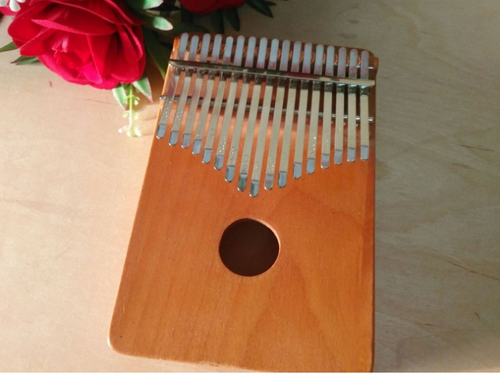 Đàn Kalimba 17 phím bằng gỗ - Đàn Kalimba Thumbs Piano -MK 03 ( Tăng túi đựng đàn )