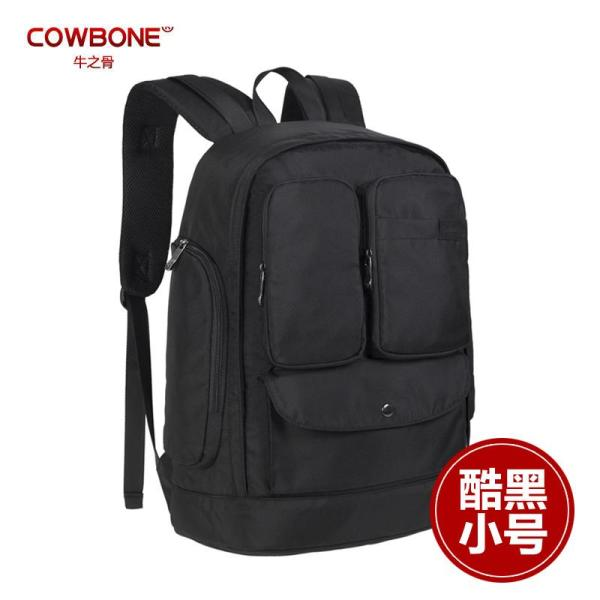 Cowbone Backpack Women and Men Korean Style Fashion Bag College Style of Middle School Students School Bag Capacity Backpack