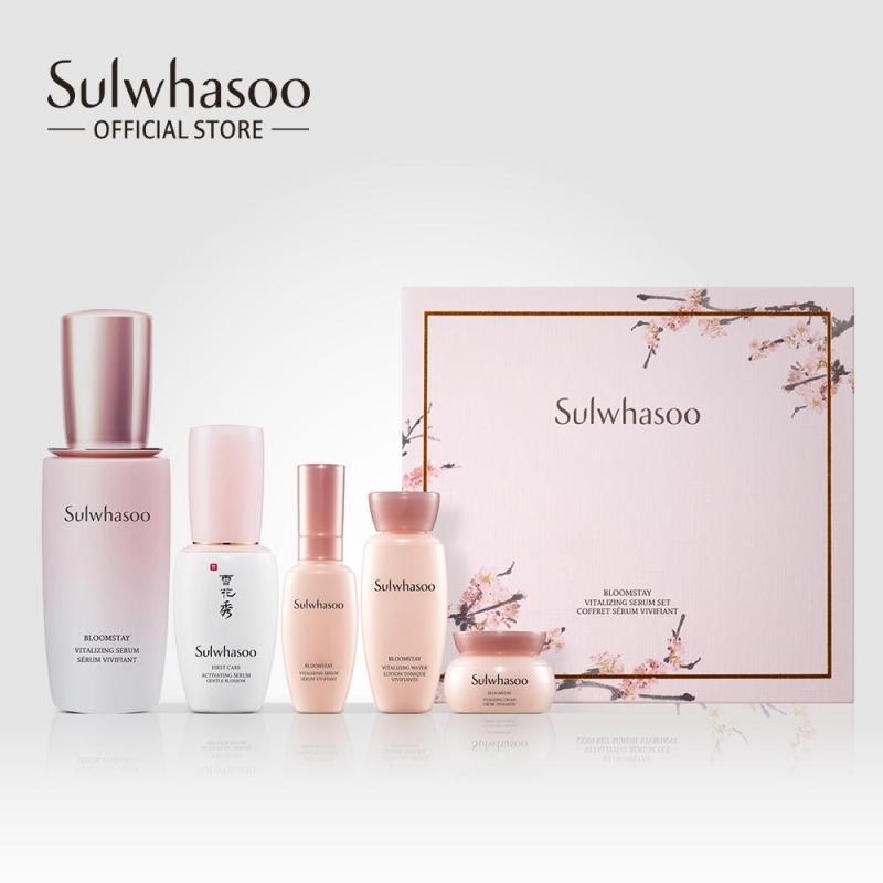 Bộ dưỡng da sáng hồng rạng rỡ Sulwhasoo Bloomstay Vitalizing Serum Set
