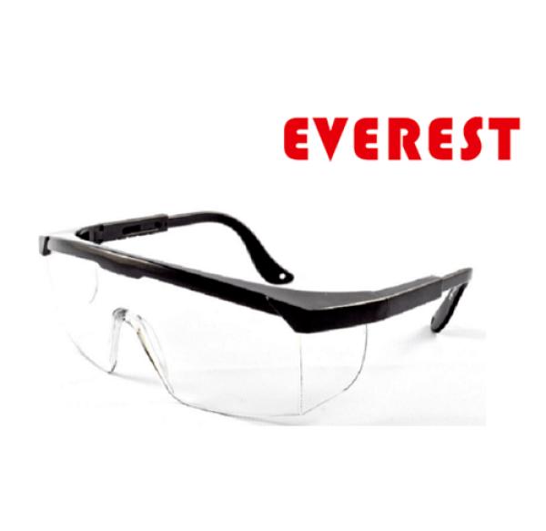 Giá bán Kính bảo hộ Everest EV105 kính chống tia UV, chống bụi, trầy xước, đọng sương. Mắt kính trong suốt, bảo vệ mắt lao động, đi xe máy