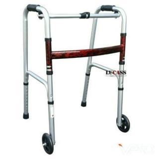 Khung tập đi bánh xe lớn Lucass W57 - Giành cho người già, người tai biến, chân thương - Cam kết chính hãng thumbnail