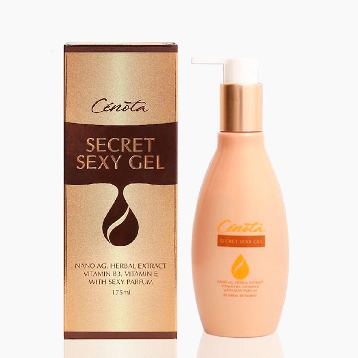 Dung Dịch Vệ Sinh Phụ Nữ Làm Hồng Và Se Khít Vùng Kín Cenota Secret Sexy Gel 175ml nhập khẩu