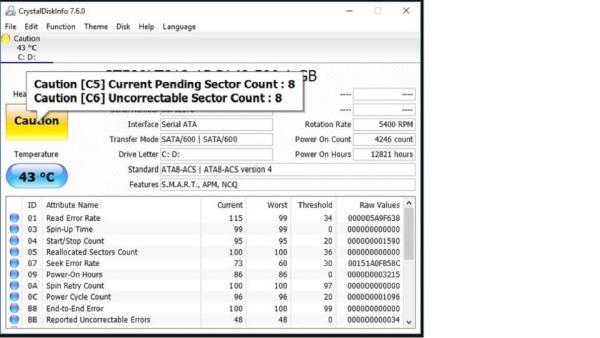 Bảng giá Ổ Cứng HDD Laptop chuẩn SATA 80Gb Caution Kĩ Thuật Phong Vũ