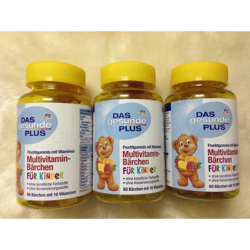 Kẹo Multivitamin gấu tổng hợp cao cấp