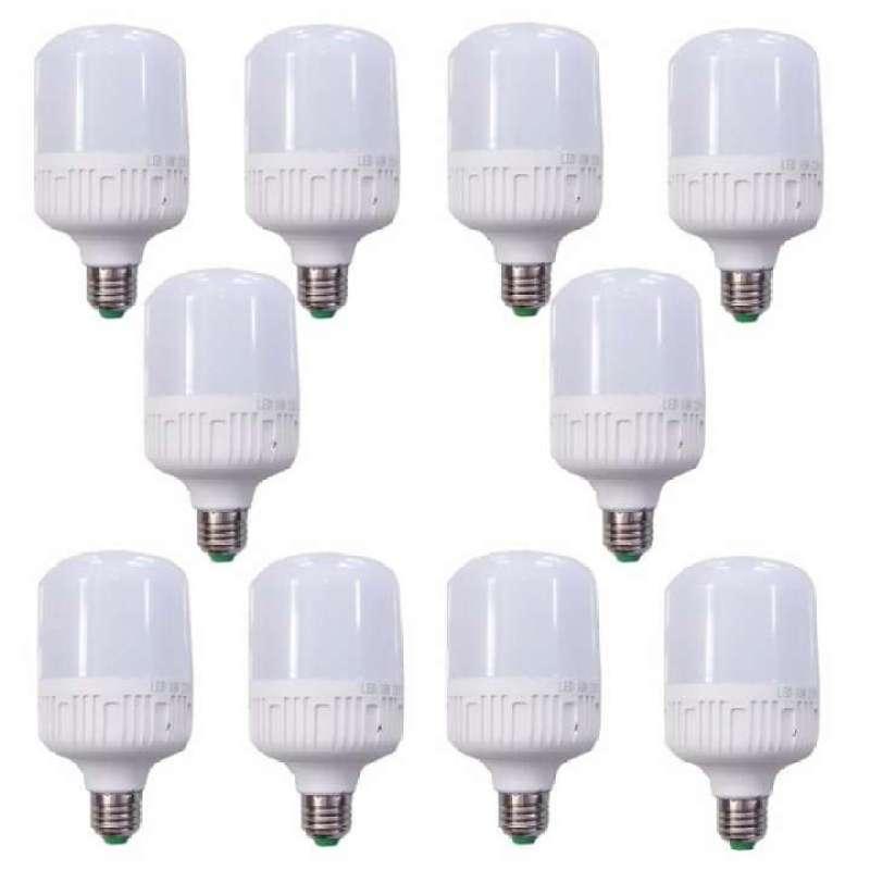 [Sỉ] - Bộ 10 Bóng đèn led 40W - Siêu sáng (Trắng/Vàng)
