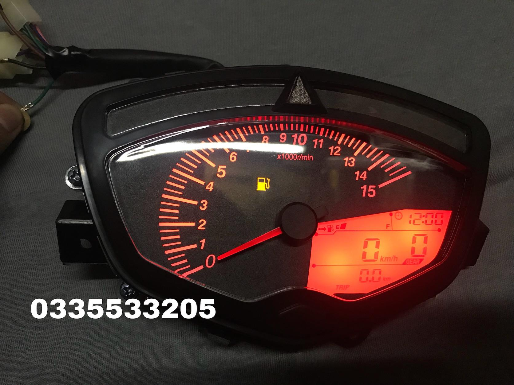 Đồng hồ điện tử xe Sirus