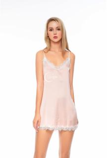 Dreamy - VS03 Váy ngủ lụa cao cấp dáng suống phối ren mềm mại sexy, Váy ngủ lụa cao cấp, váy ngủ nữ, váy ngủ 2 dây, váy ngủ gợi cảm ,váy ngủ sexy,đầm ngủ lụa mặc nhà màu hồng pastel thumbnail