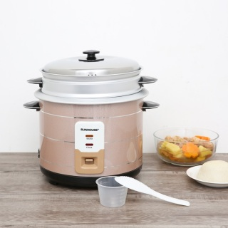 Nồi cơm điện Sunhouse 2.2 lít SHD8135 chính hãng-hàng trưng bày.Nấu cơm công nghệ nấu 1D, cơm nhanh chín trong khoảng 20 - 25 phút, giữ ấm được 4 tiếng. Dung tích 2.2 lít phù hợp nấu cơm cho gia đình trên 6 người. thumbnail