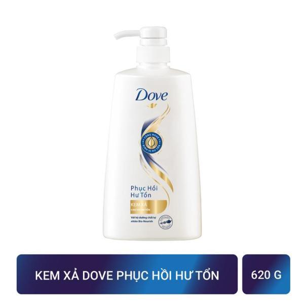 Kem xả Dove Phục hồi hư tổn nuôi dưỡng tóc lâu dài cho mái tóc ngày một chắc khỏe 620gr giá rẻ