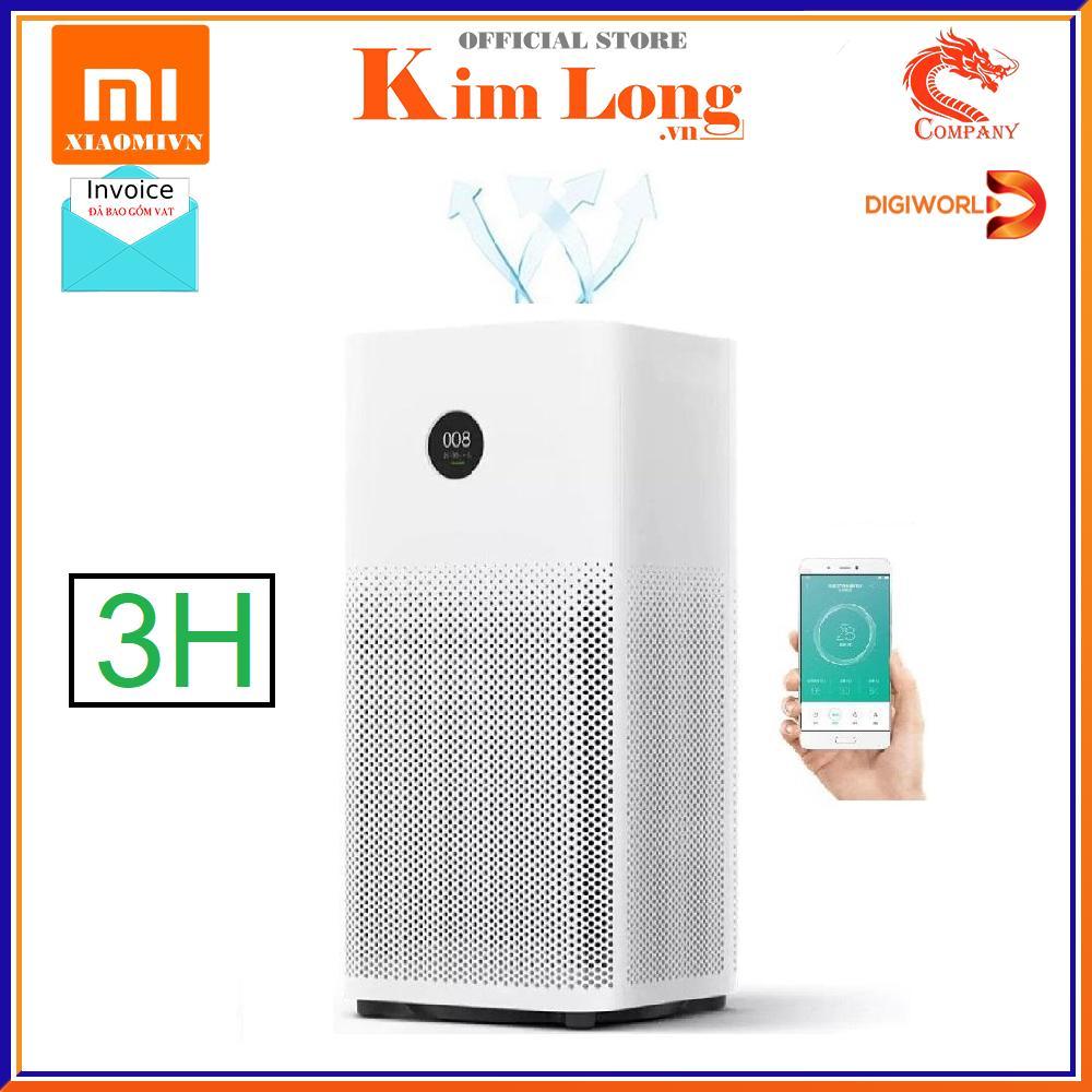 Bảng giá [Bảo hành 12 tháng] Máy lọc không khí Xiaomi Air Purifier Gen 3H , lọc siêu bụi mịn 0.3μm bao gồm hạt PM 2,5 , khử mùi 400m3/h - Hàng Digiworld - Bản quốc tế