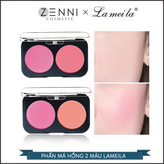 [FREESHIP] Phấn má hồng Lameila - Phấn hồng hộp 2 ô màu cá tính siêu mịn - Mua lẻ với giá sỉ - Zenni thumbnail