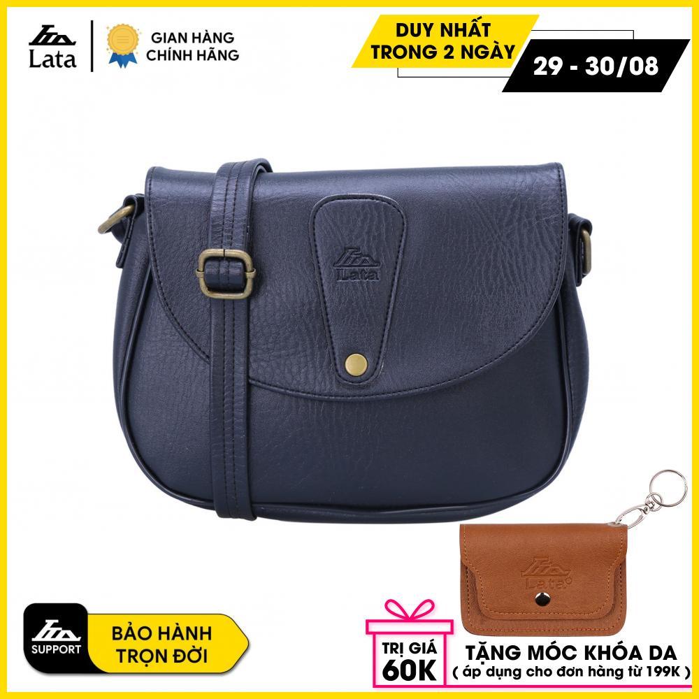 Túi đeo chéo LATA HN15 (Da đen)