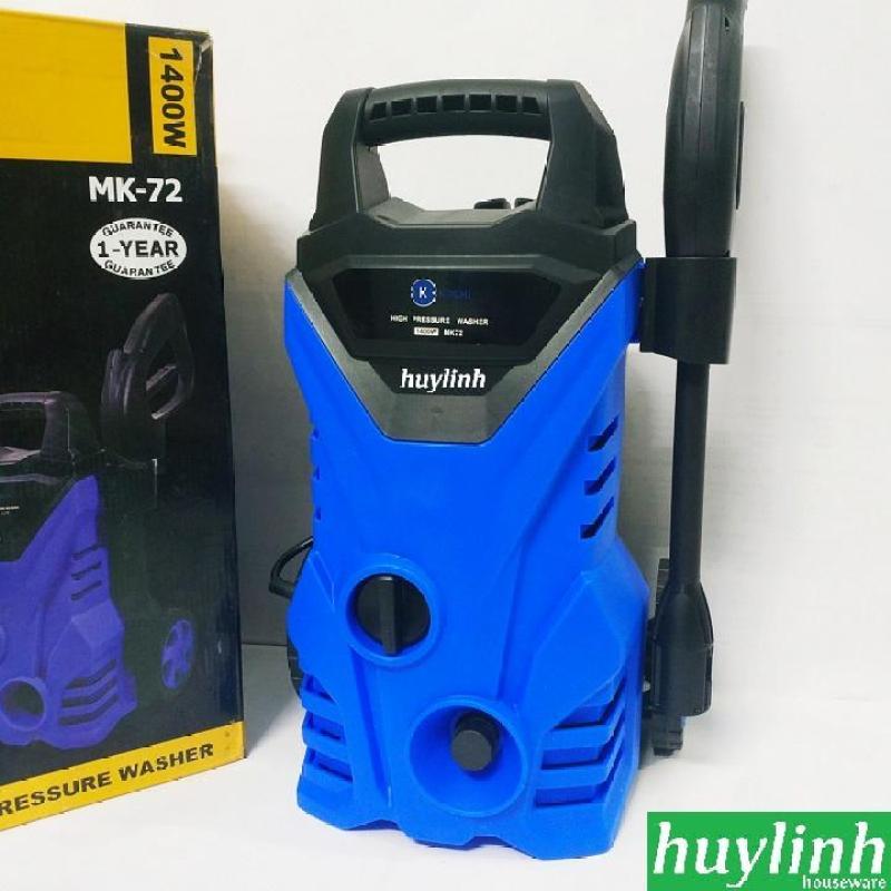 Máy rửa xe Kachi MK72 tự hút nước - 1400W