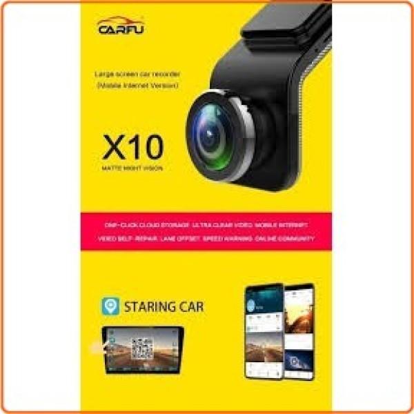 Camera Hành Trình xe hơi Trước Và Sau USB Carfu X10 có xem qua app điện thoại bằng wifi tích hợp màn hình DVD Android