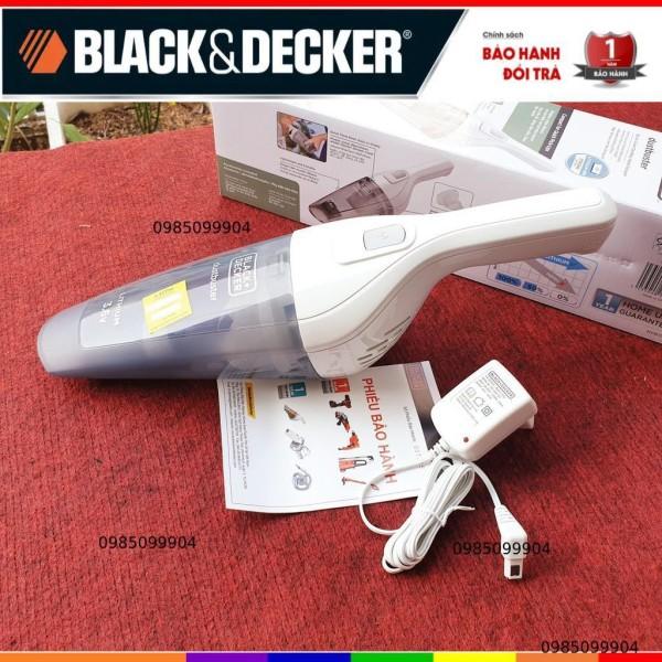 Máy hút bụi cầm tay dùng pin Black and Decker dùng pin 3.6V mã NVB115J