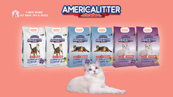 Cát vệ sinh cho Mèo America Little 10L - ~ 8kg