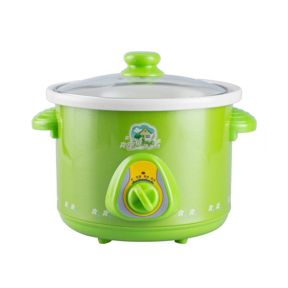 [XẢ KHO] Nồi áp suốt nấu cháo cho em bé 1,5l (màu xanh)-Nồi điện nấu cháo cho bé, hầm xương, kho cá đa năng-nồi hầm cháo chậm