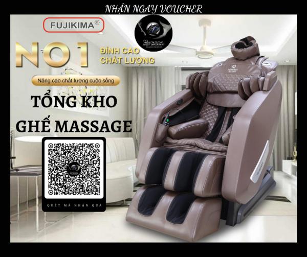 [HOT 2020] Ghế Massage FUJIKIMA FJ-909FX - Ghế Massage Toàn Thân Đa Chức Năng - Máy Massage Toàn Thân Công Nghệ Mới