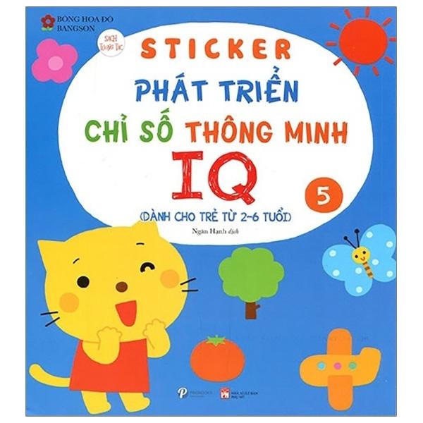 Fahasa - Sticker Phát Triển Chỉ Số Thông Minh IQ - Tập 5