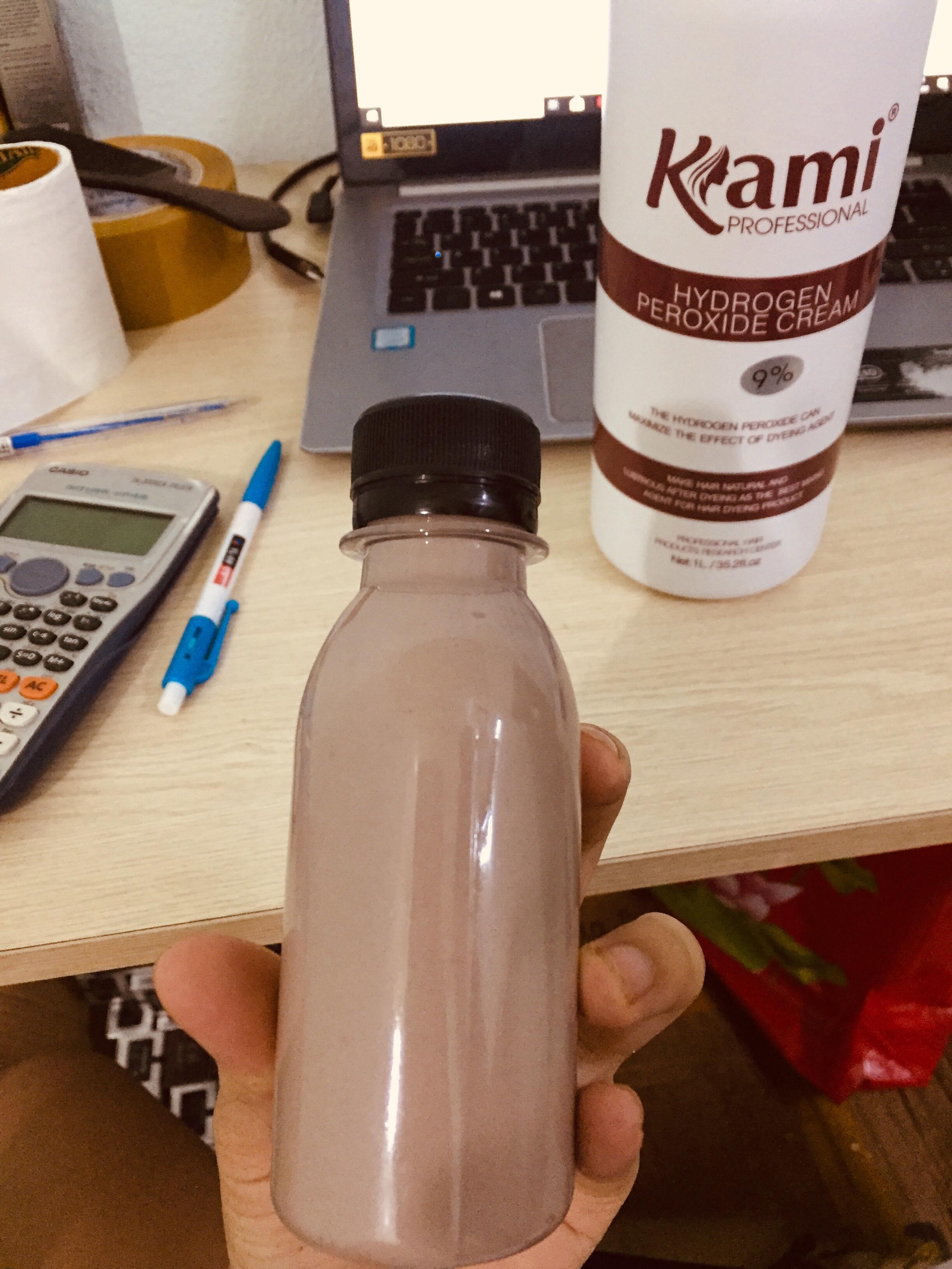 Oxi chiết hương socola chống xót dạng chai 100ml cao cấp
