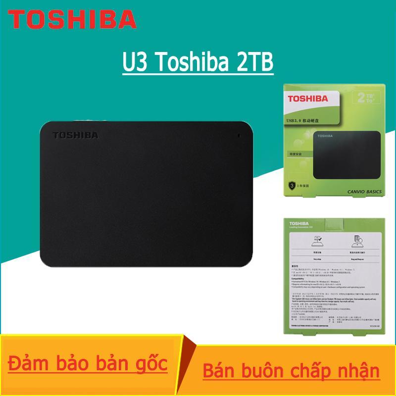Ổ cứng ngoài Toshiba Canvio Ready - 2TB - Đen Nhật Bản