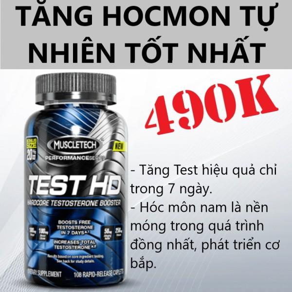 Thực Phẩm Bổ Sung Tăng Testosterone Nam Test HD 90 Viên
