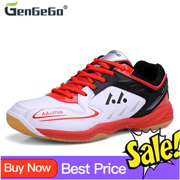 Giày Đánh Cầu Lông Nam Gengego Chất Lượng Cao Mềm Huấn Luyện Chống Trơn Trượt Giày Thể Thao Cao Cấp Thể Thao Cho Trẻ Em Giày Đánh Cầu Lông
