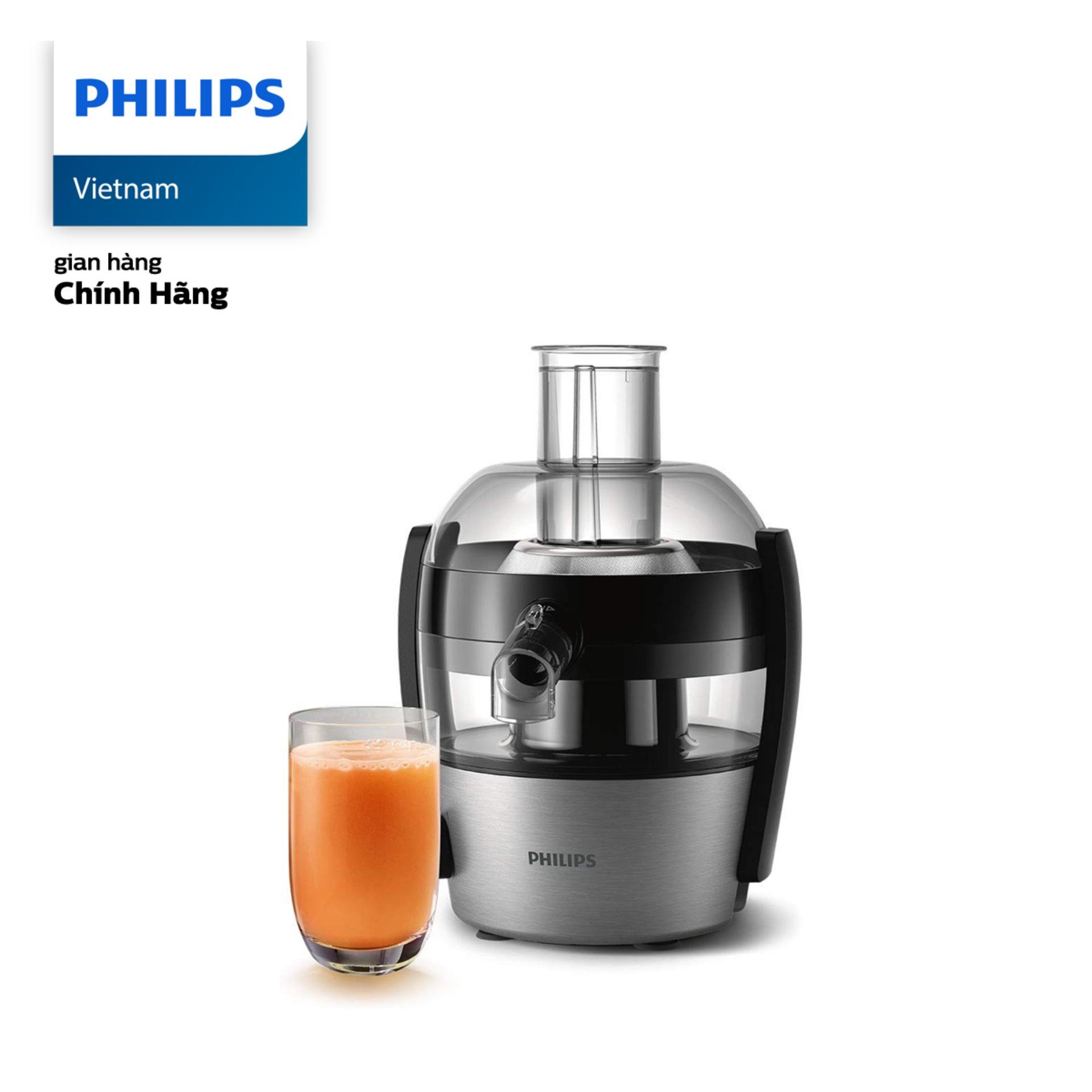 Bảng giá Máy Ép Trái Cây Philips HR1836 (500W) - Hàng phân phối chính hãng - Công nghệ Quick Clean giúp gạt bỏ bã, xơ và vệ sinh dễ dàng; Chức năng ngăn rỉ nước tích hợp trong vòi Điện máy Pico