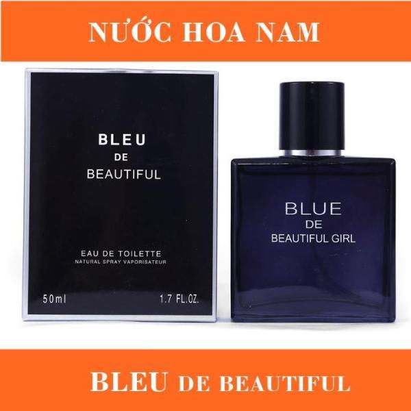 Nước Hoa Nam BLEU DE BEATIFUL, Hương Thơm Nam Tính, Đậm Chất Phái Mạnh, Thể Tích 50ml nhập khẩu