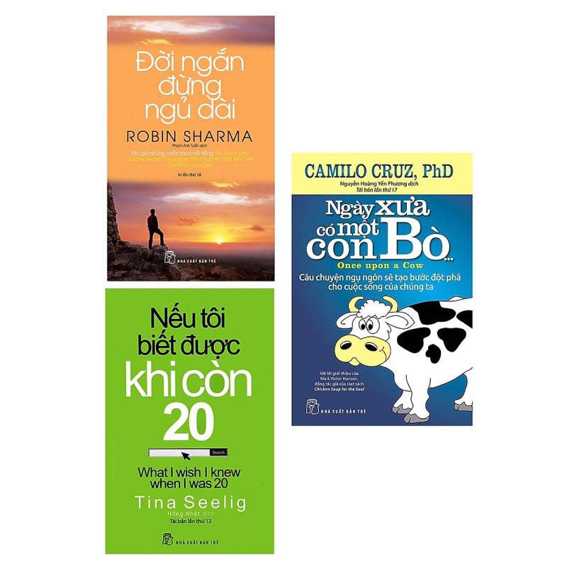 Combo 3 Cuốn Sách Làm Thay Đổi Cuộc Đời Bạn: Đời Ngắn Đừng Ngủ Dài (Tái Bản) + Nếu Tôi Biết Được Khi Còn 20 (Tái Bản) + Ngày Xưa Có Một Con Bò... / Tặng Kèm Bookmark