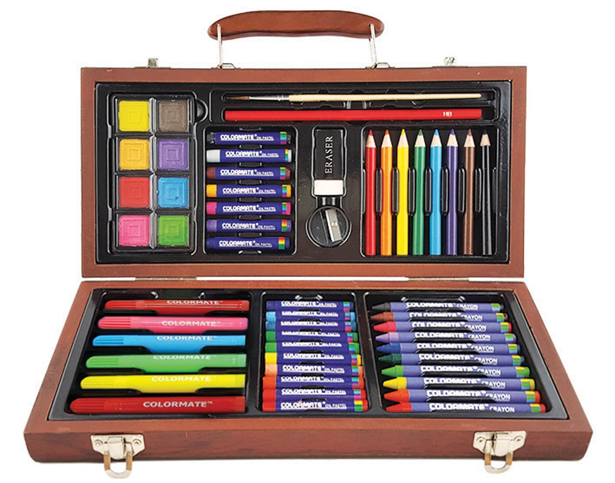 Bút Màu Colormate Hộp Gỗ MS-55W Giá Cực Ngầu