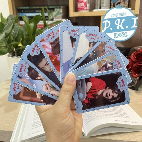 Bộ Card Cứng In Hình Diễn Viên Vương Nhất Bác - Bo Góc
