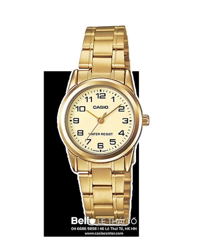 Đồng hồ Casio Nữ LTP-V001G-9B chính hãng giá rẻ - Bảo hành 1 năm - Pin trọn đời