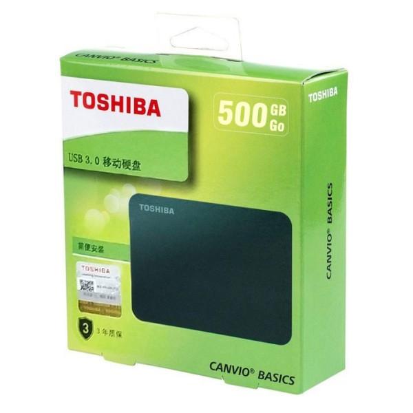 Bảng giá Ổ CỨNG DI ĐỘNG TOSHIBA CANVIO BASICS 500GB USB 3.0 Phong Vũ
