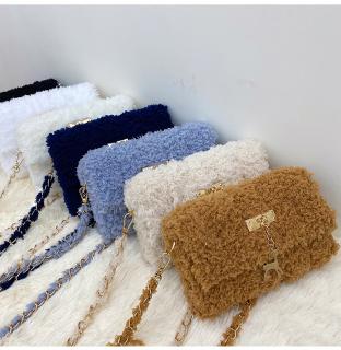 Set nguyên liệu len xù bông túi đeo chéo tự đan handmade hot hit tiktok thumbnail