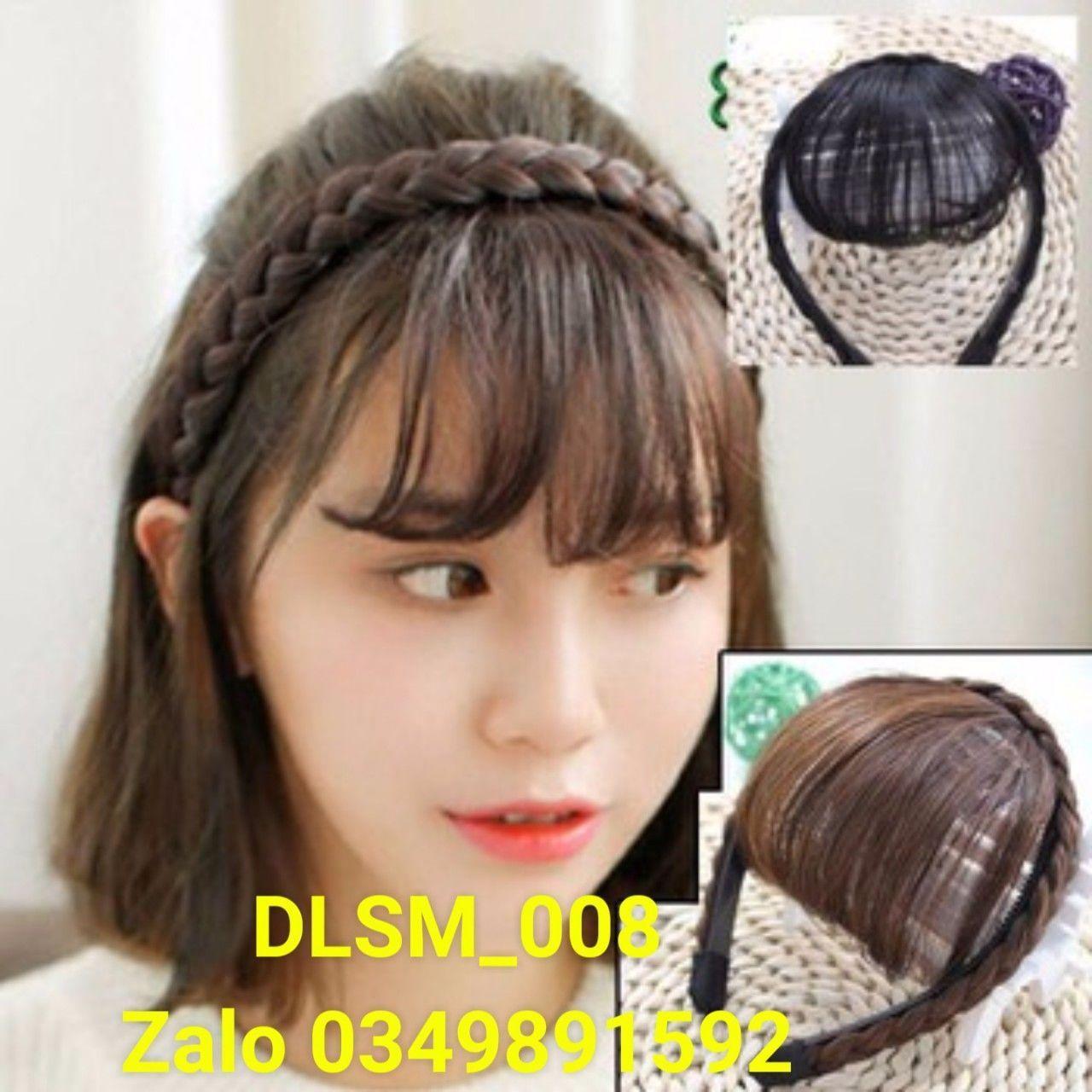 Mái thưa kết hợp cài tóc Hàn Quốc_DLSM_008