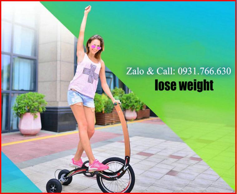 Bảng giá Xe đạp tập thể dục đứng - Xe đạp gấp gọn nhẹ - Xe đạp 3 bánh không yên. Kích thước 100 x 110 x 34cm